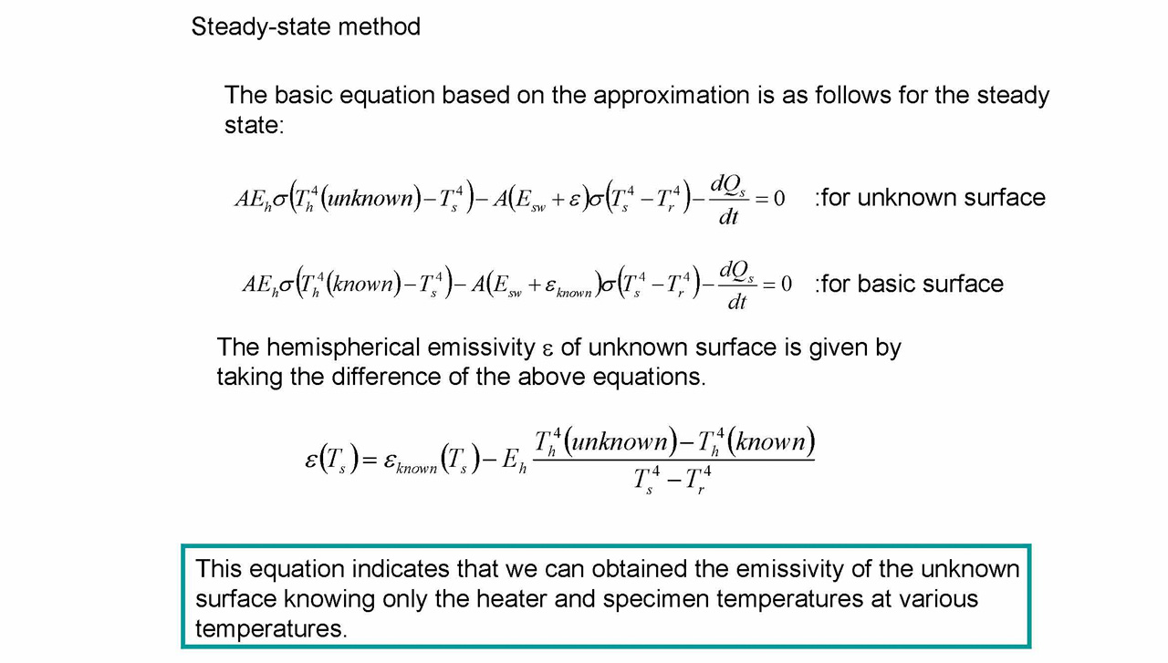 Steady-state method